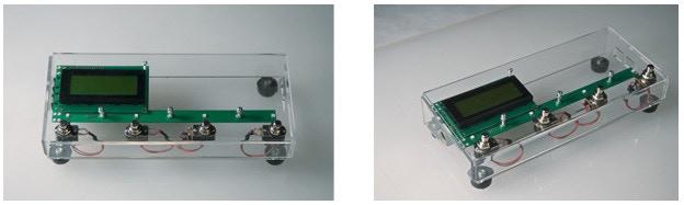 MOD Footswitch Extensor acrylic prototype.