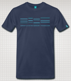 Example shirt. Final color-scheme may differ!
