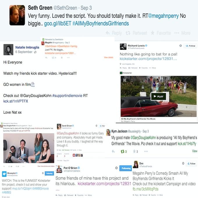 screenshots from twitter.com