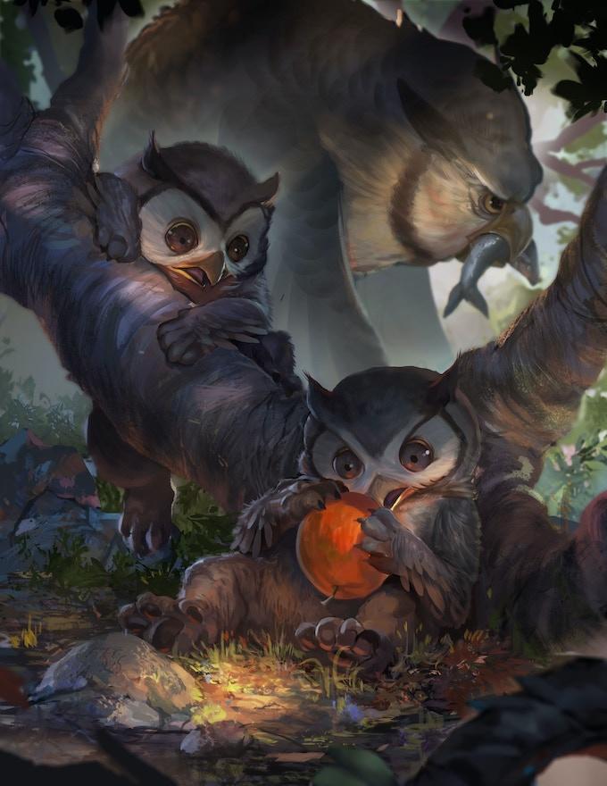 Owlbear Cubs