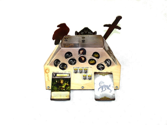 Organizer compatible with Game of Thrones 2nd edition