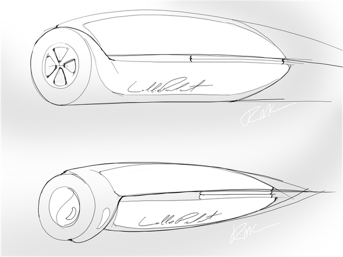 Early Concept Drawing