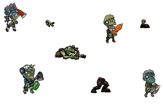 Normal Zombie Selection