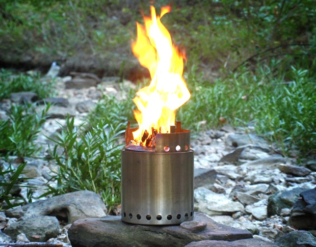 A look at our new patented Solo Stove Campfire.