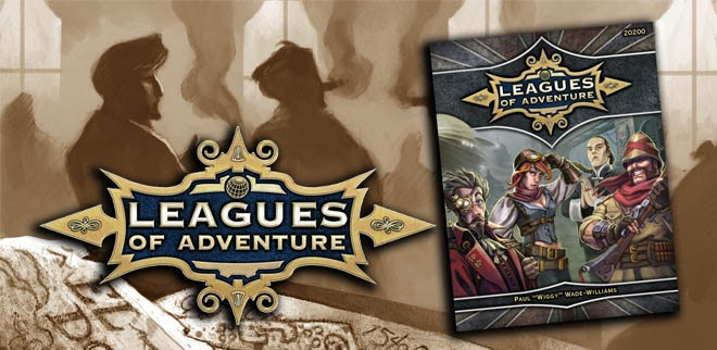 Leagues of Adventure RPG - The origins for Rocket Race.
