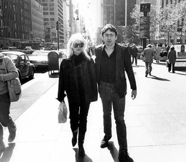 "Debbie Harry + Chris Stein, Sixth Ave NYC 1978 - available 11""x14"" C Print"