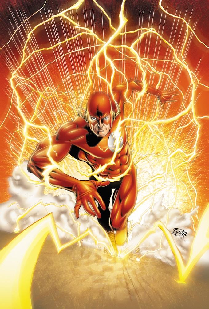 Jamal Igle's take on The Flash
