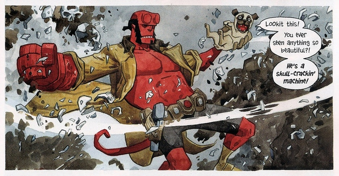 Jill Thompson on Beast of Burden/Hellboy