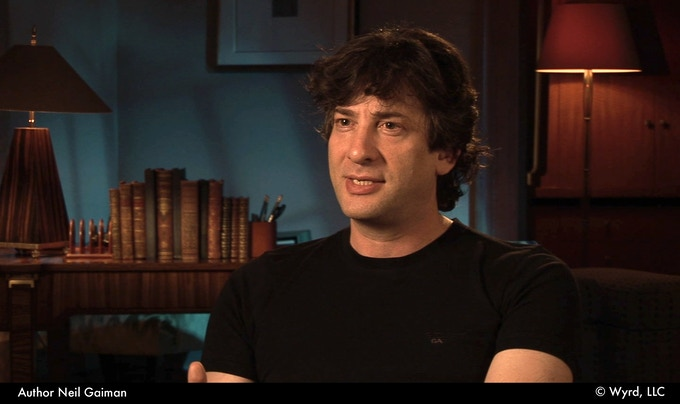 Neil Gaiman (author – The Graveyard Book, American Gods)