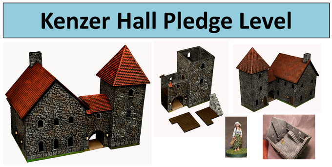 Kenzer Hall has detailed interior as well.
