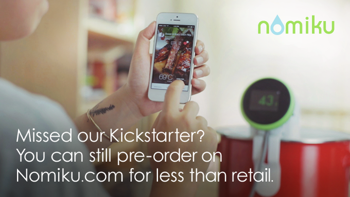 Pre-order on Nomiku.com