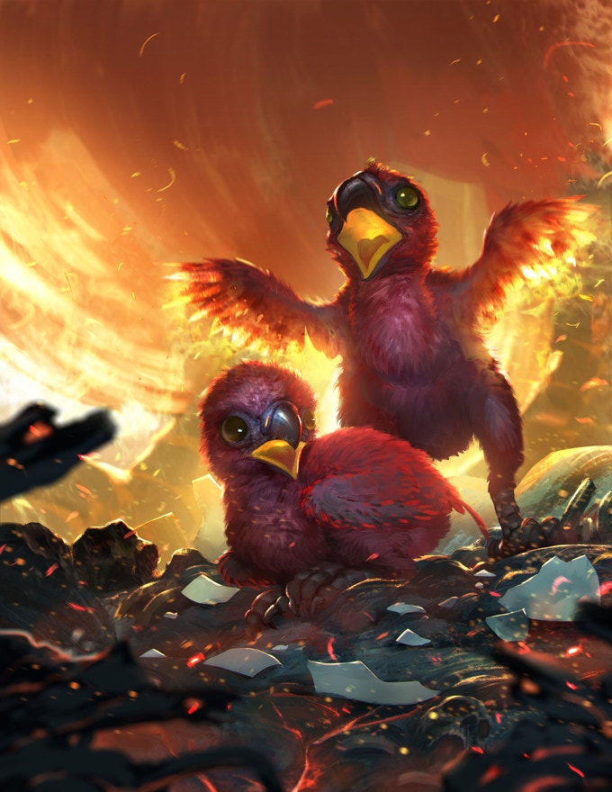 Phoenix Hatchlings!
