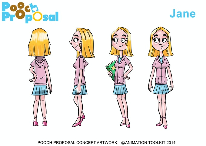 Jane Character Design by Les Eaves