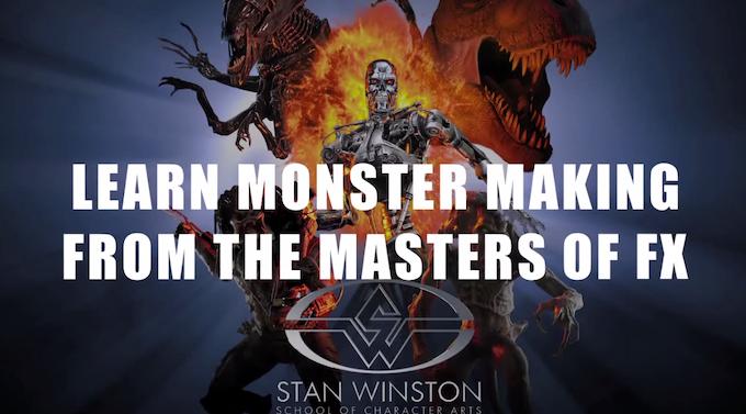 Stan Winston School Screenshot