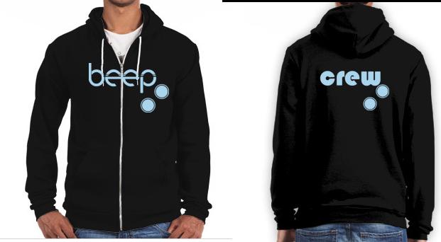 Super exclusive Beep Crew hoodie