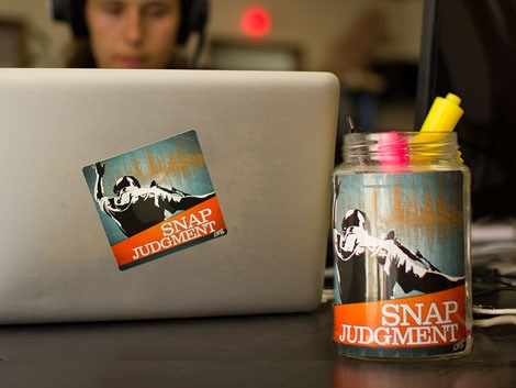 Stick Snap Stickers Anywhere (on anybody!) Alert The Coffeeshop Crowd That You Snap BOTH Ways.