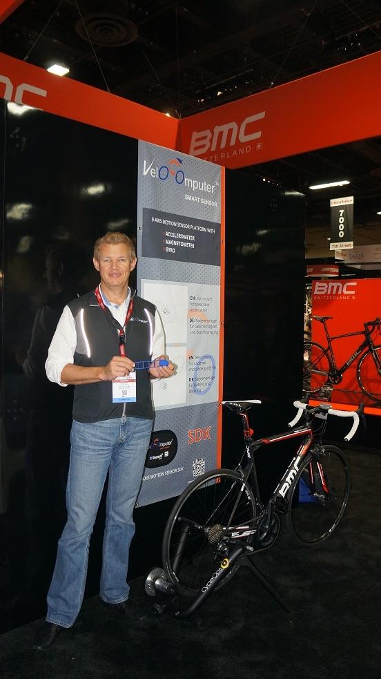 Vlad Savchenko. Smart Sensor demo at Interbike 2014