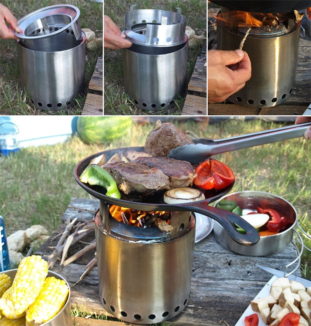 Boil water or cook a family dinner. The possibilities are endless!