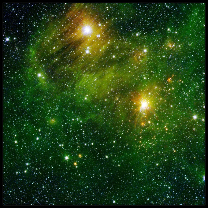 Green Binary Star Battle mat 36x36