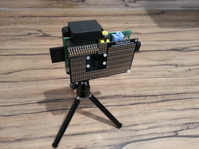 Why not use your universal tripod with the ProtoCam?