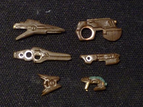 Yan'drassi Weapons