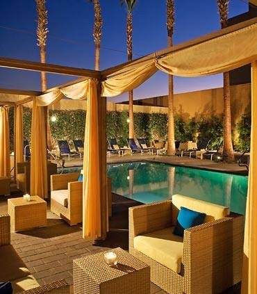 Hotel, Pool and Cabanas at the $150 levels twice and again at the $385 level!