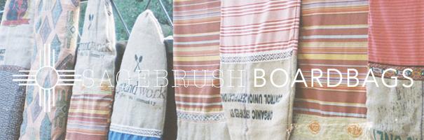 Sagebrush Board Bags by Anna Ehrgott
