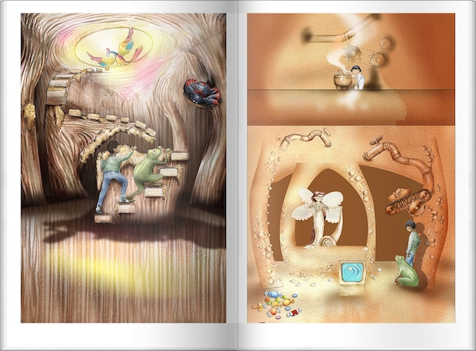 Exquisitely Detailed Pop-Up Illustrations In Kickstarter Exclusive Collector's Edition