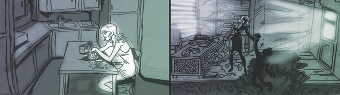 Storyboards by Dan Magee