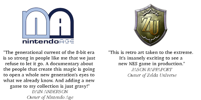 The New 8-bit Heroes: New NES game and creation documentary by Joe