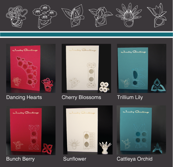 Jewelry Greetings Cards