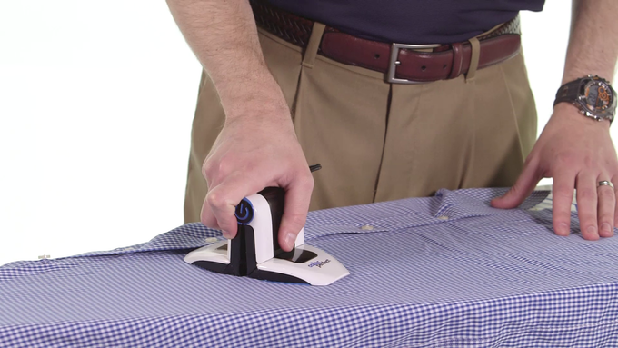 Conventional Ironing Position