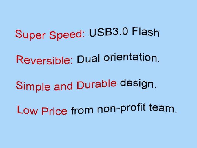 Super Motor USB Flash Features.