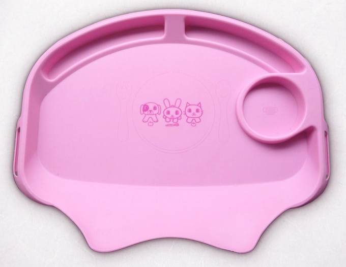 Pink Tidy Table Tray Insert
