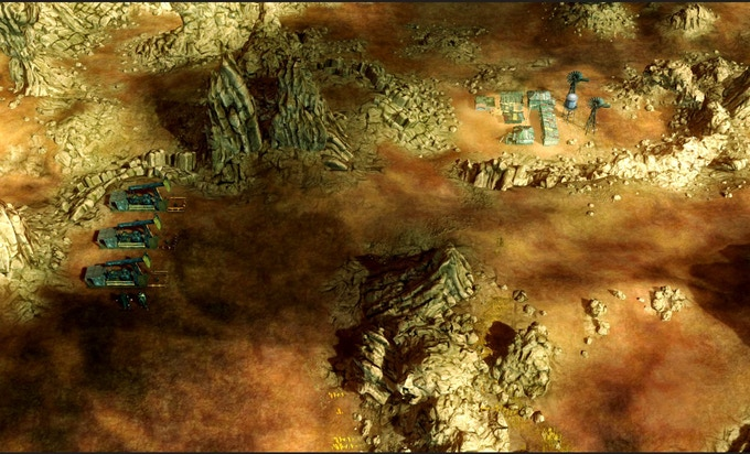 "Pre-Alpha Strategic Map ""Regionscape"""
