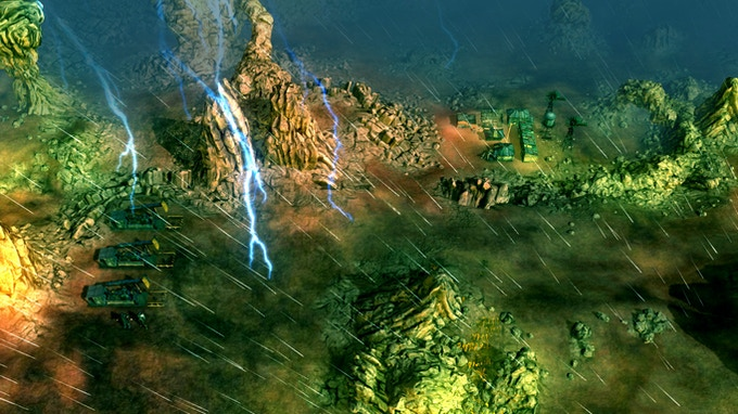 Pre-Alpha Strategic Map with Astral Rain ongoing