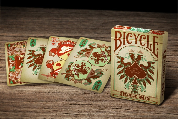 Bicycle Branded - Bronze Age Deck