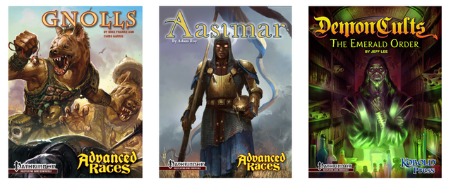 Southlands: New Fantasy Options for Pathfinder RPG by Kobold