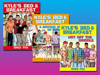 Kyle's B&B by Greg Fox at our $50 level!