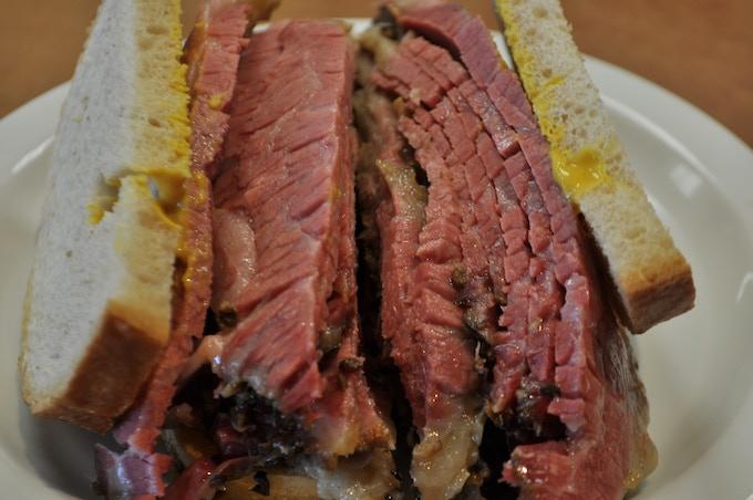 Abie's Smoked Meat Sandwich