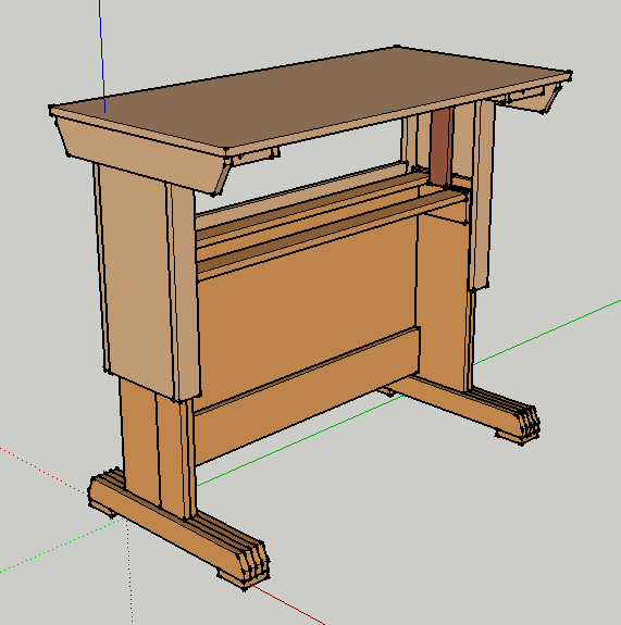 A Sit-Stand Desk needs to raise and lower with the workstation intact