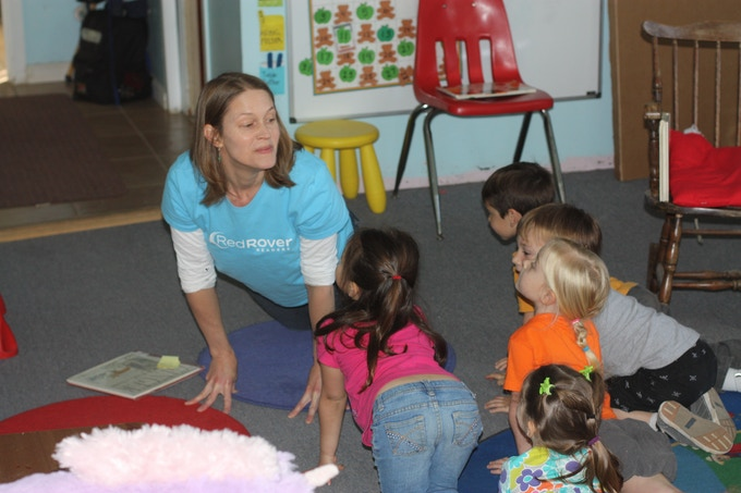 What's it like to be a cat? Nicole Forsyth, author, explores this question with a group of students.