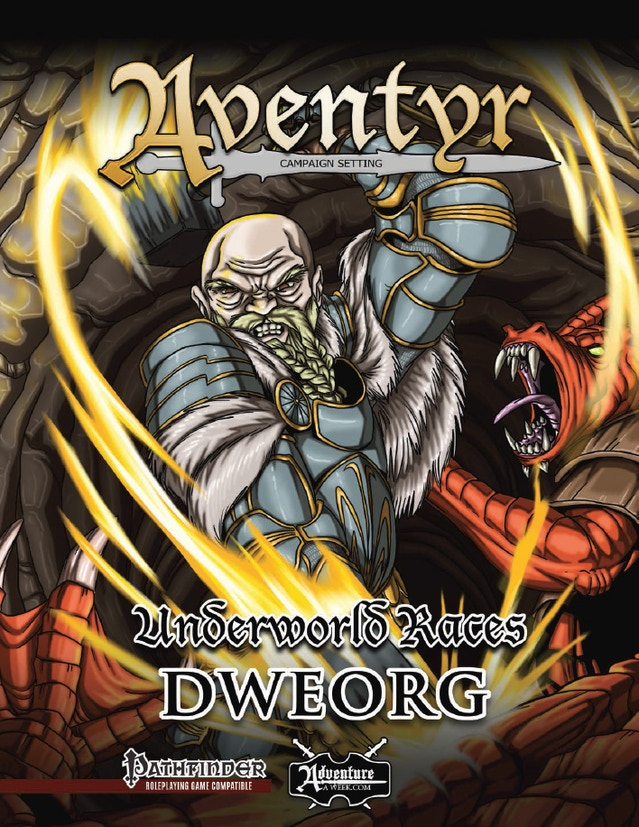 Rise of the Drow - Pathfinder RPG Adventure Trilogy by AAW Games