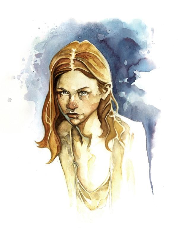 Fintan - Watercolor Concept