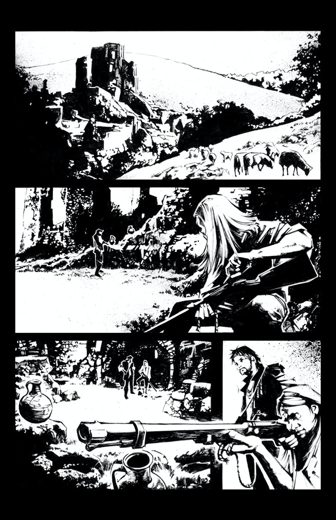 VOYAGEUR - page 11 - INKS