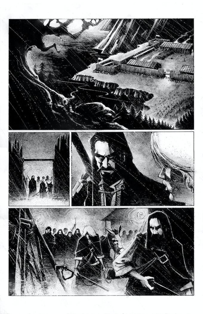 VOYAGEUR - original sampler - page 01
