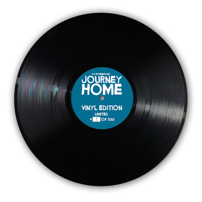 Get your limited edition vinyl record. (Design work in progress)