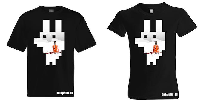 "Outpost 13 ""Stalker"" T-Shirt, Men and Womens."