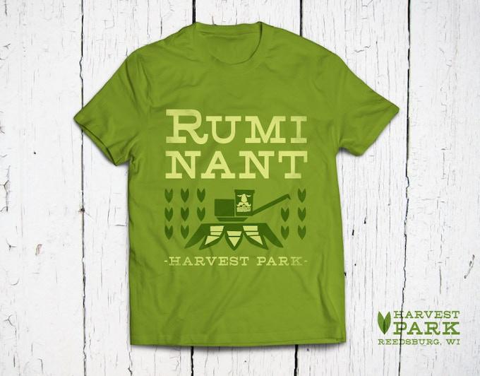 Ruminant T-shirt designed by local artist Amy Sullivan © 2014 www.amyleesullivan.com