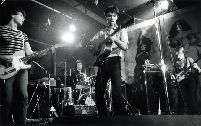 "Talking Heads, CBGB's 1977 - Available as 11""x14"" C-Print"